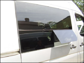 Sprinter Venting Side Glass